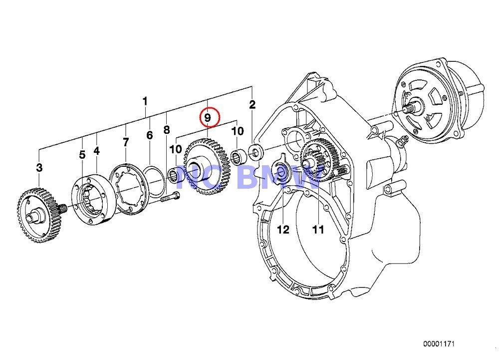 Buy BMW Genuine Motorcycle Starter 1-Way Clutch/Reduct