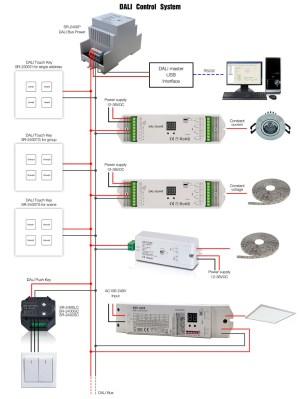 Dali Lighting Control System  Buy 24v Dali Led Driver