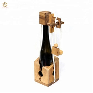 Wine Bottle Puzzle Game
