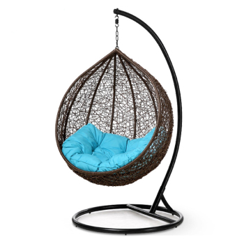 egg chair swing medical recliner chairs water drop shaped wicker hanging