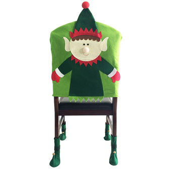christmas elf chair covers for plastic chairs xm c06 xmas decorations buy felt