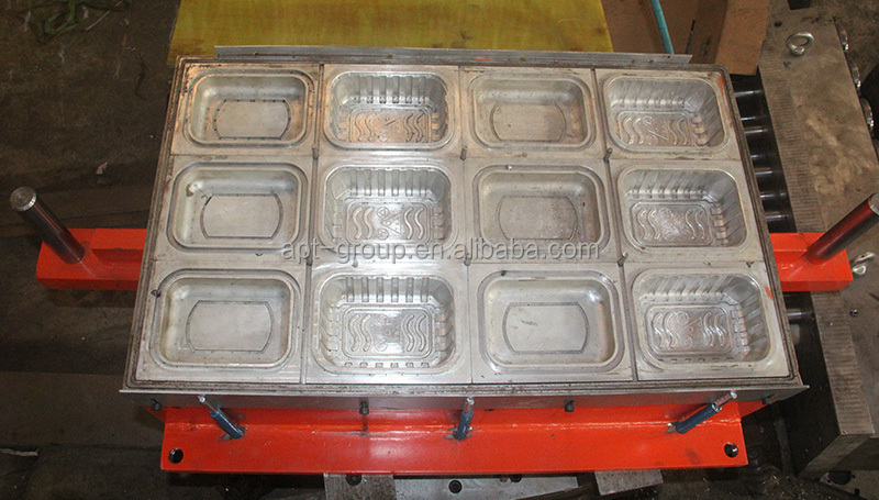 Fullautomatic Plastic Thermoforming Machine For Food