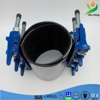 Zr Ductile Iron Medical Tube Clamp Water Pipe Sleeve Clamp ...