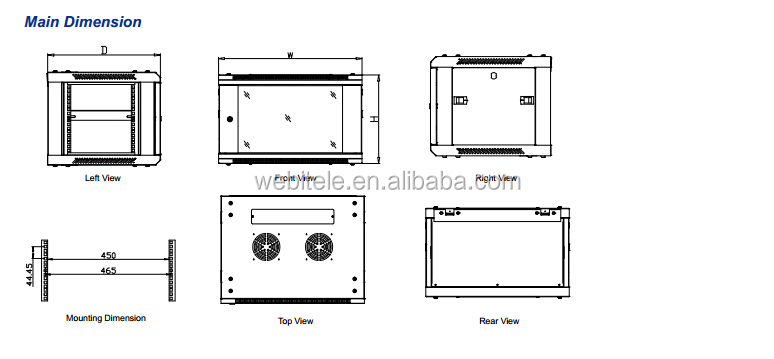 Best Sales Cabling Wall Cabinet Used For