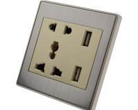Universal 110v- 250v Modern110 Volt Electrical Plugs And ...