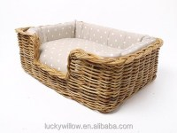 Pet Wicker Dog Bed Basket - Buy Dog Basket,Dog Bed Basket ...