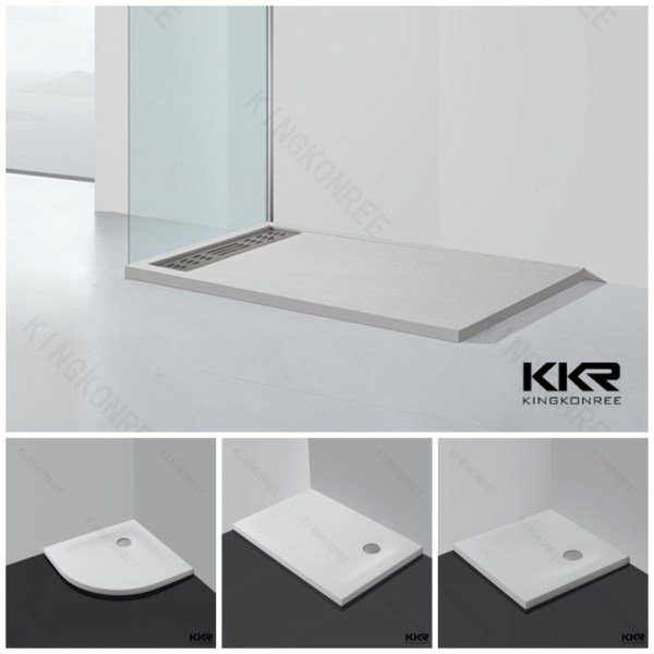 Solid Surface Shower Base Pans