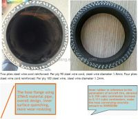 Concrete Pump Rubber Hose With End Fittings /double Flange ...