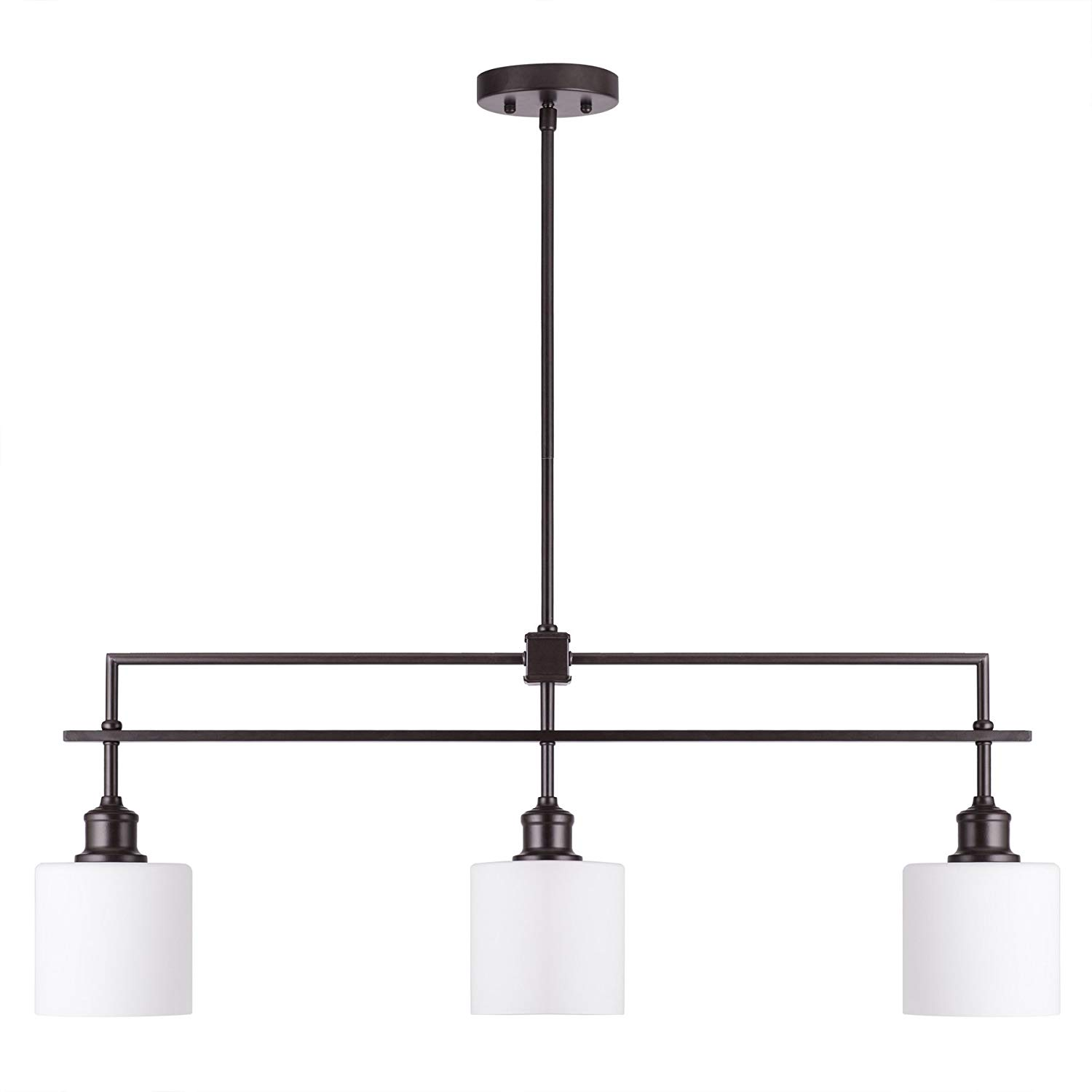 oil rubbed bronze kitchen island lighting embroidered towels cheap find get quotations co z 3 light linear pendant