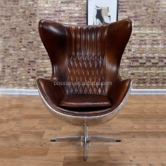 Restaurant Style High Chair Lightweight Folding Chairs Hiking Arne Jacobsen Vintage Aviator Leather Egg - Buy Chair,swivel Chair,aviator ...