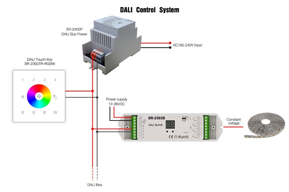 Wiring Diagrams Further Dali Lighting Control Wiring Diagram On Dali