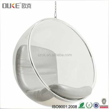 hanging chair clear office desk chairs target hot selling products acrylic ball with factory price