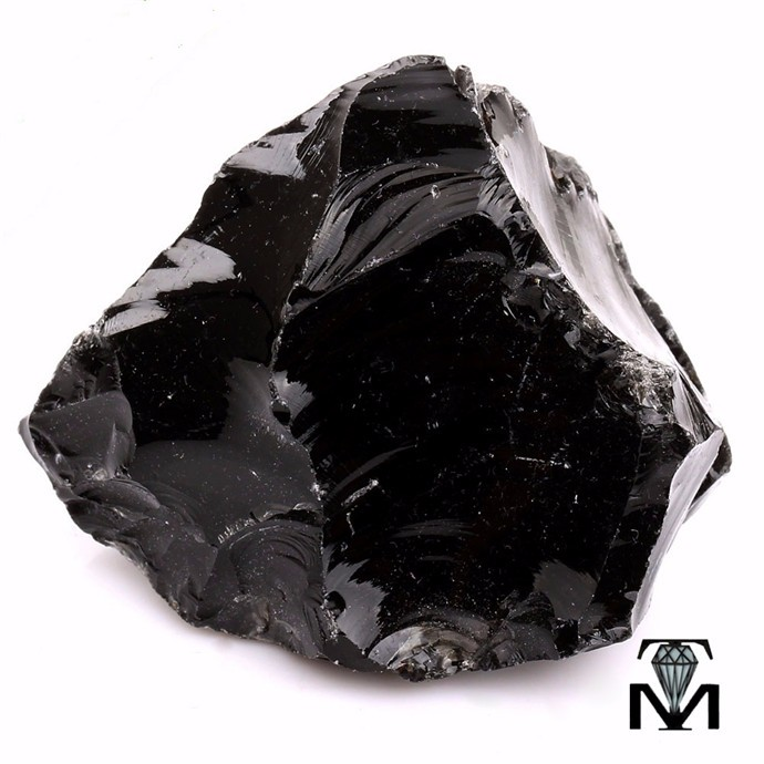 Bulk Wholesale Natural Georgian Obsidian Rough Quartz Rock