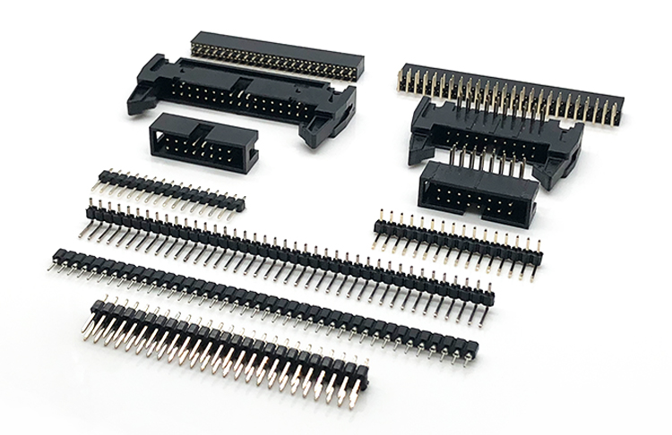 1.27mm 1.5mm 2.0mm 2.54mm Pitch Double Row Pin Header