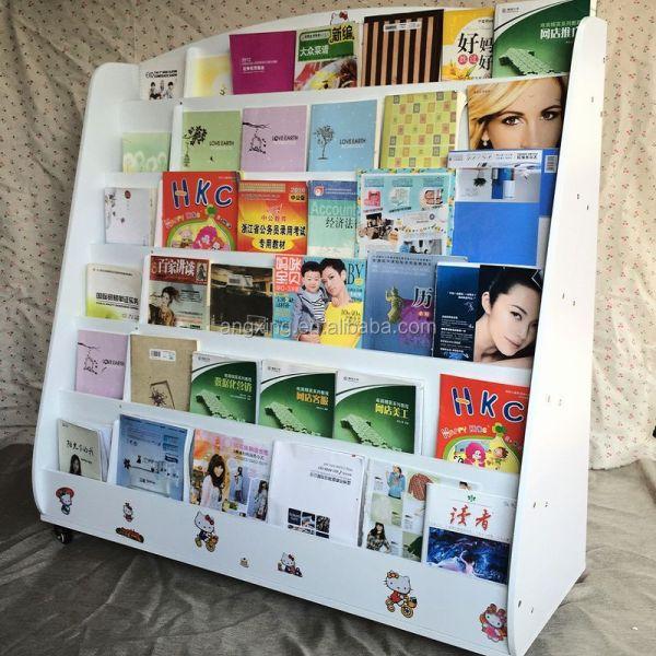 Comic Book Rack Display Shelves