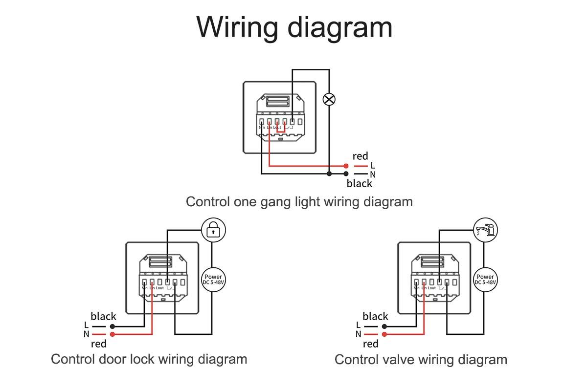 hight resolution of lanbon new fingerprint smart light switch smart wifi switch wireless remote wall switch for smart home