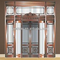 Luxury Hotel Door Design Copper Front Double Door Designs