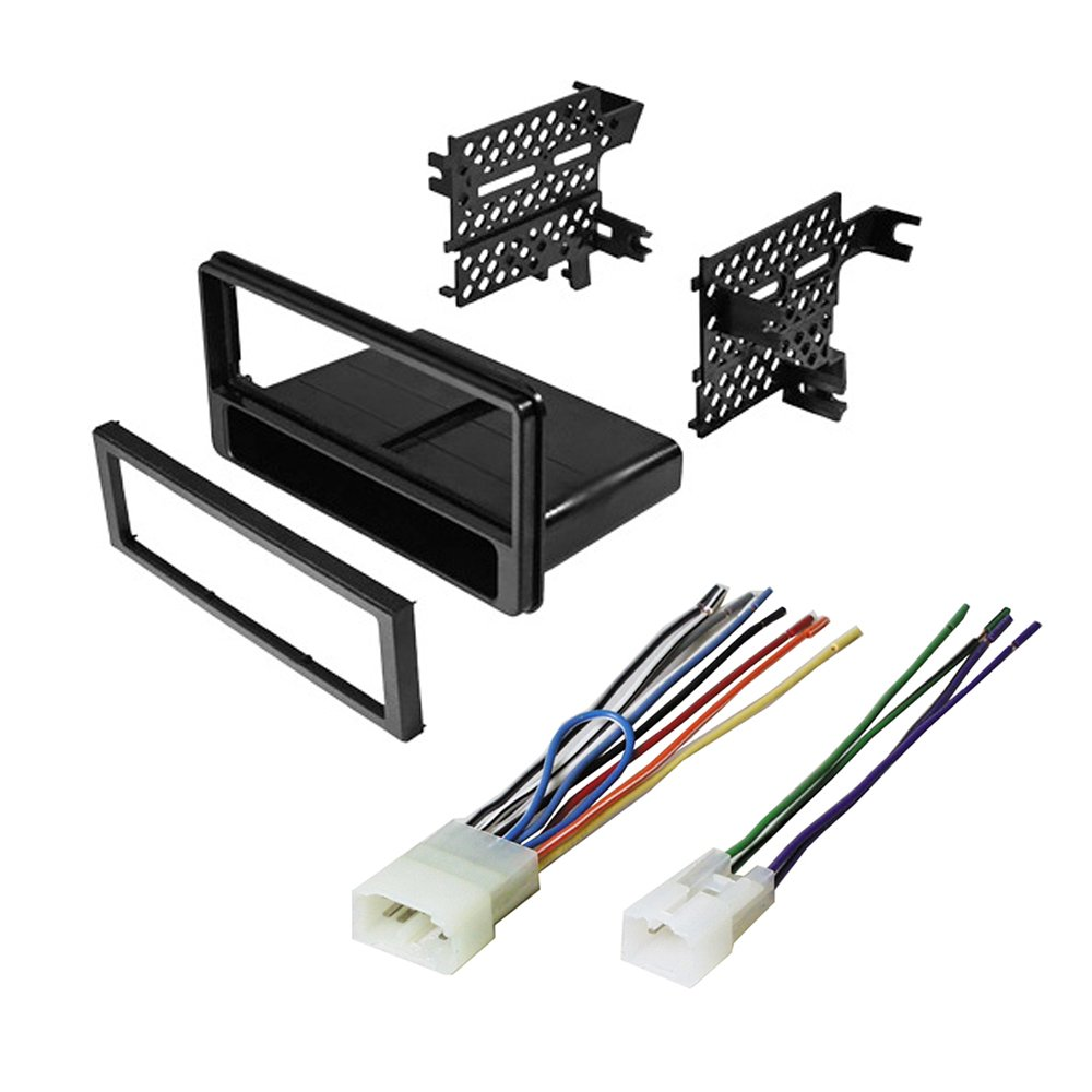 medium resolution of car stereo radio cd player dash install mounting kit installation trim pocket for select scion and subaru vehicles