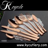 Stainless Steel Tableware,Copper Cutlery,Wedding Hotel ...
