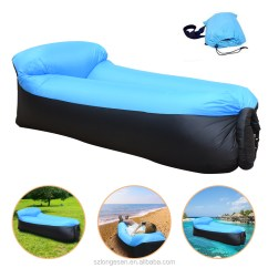 Blow Up Beach Chair Nursery Rocker Uk Inflatable Lounger Sleeping Air Bed Resistant Portable Lounge For Indoor Outdoor Camping Sofa