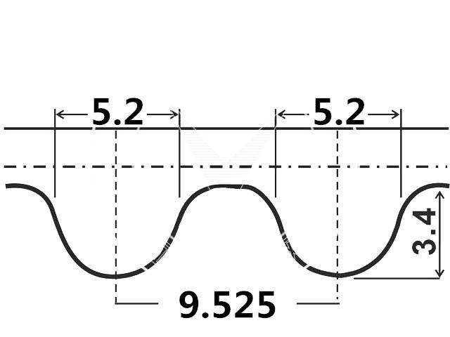 [oneka]timing Belt For Renault Grand Scenic Ii (jm0/1_) 04