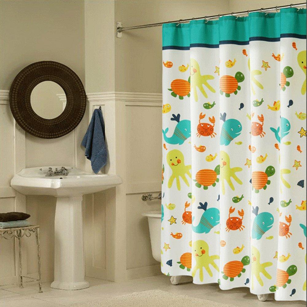 buy wimaha kids shower curtain fabric