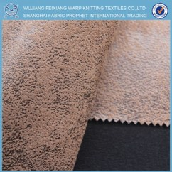 Suede Sofa Fabric Bed Best Price Uk Faux For Cover Warp Knitting Brushed
