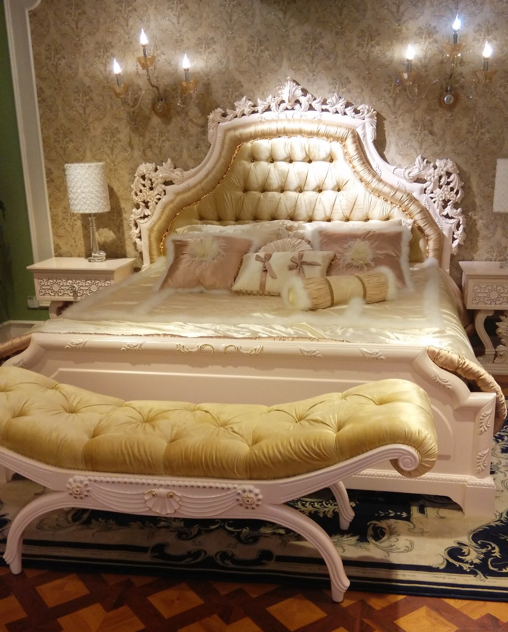 Royal Classic Furniture White Used Bedroom Furniture For Sale Royal Palace Furniture   Buy Royal ...