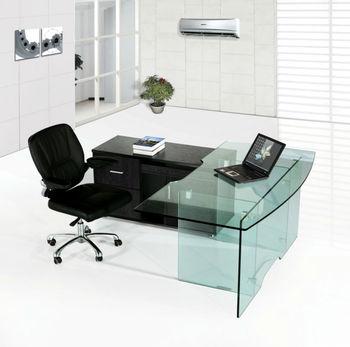 Tempered Glass DesksCheap Glass Computer DeskHigh End