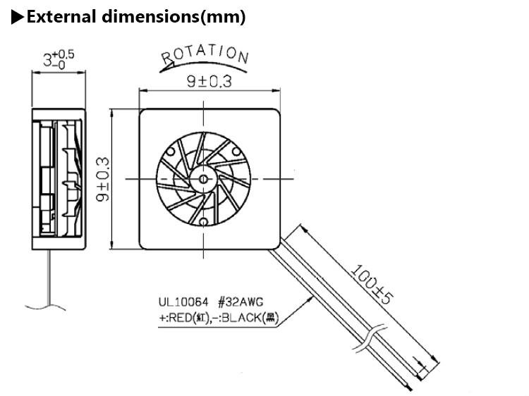 Mighty Mini SUNON Maglev 0903 9x3 9mm 9x9 9x9x3 Micro