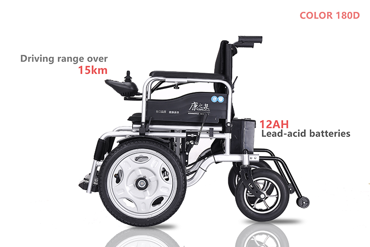 Cheap Price Foldable Power Electric Wheel Chair With Carry