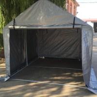 3.66*2.6m Middle Steel Frame Storage Tent/car Shelter ...
