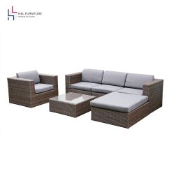 Wicker Sofa Sets Uk Modern Beige Sectional Cheap Outdoor Find Deals On Line At Alibaba Com Get Quotations H L Patio 6pcs Rattan Set Garden Furniture Cushioned With Ottoman