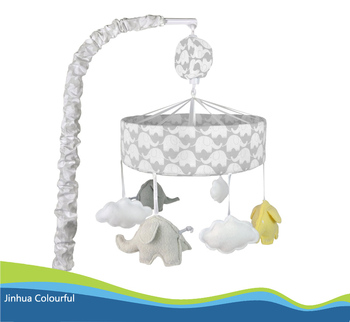 baby bed mobile musical