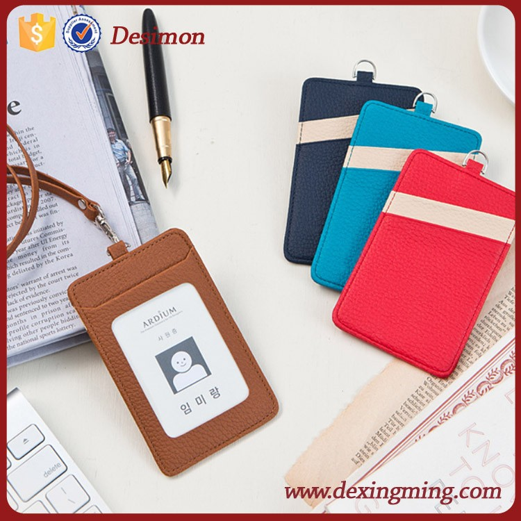 Polyester Badge Holder With Neck Rope,Neck Wallet Badge