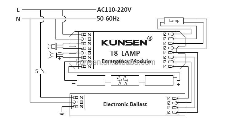 tridonic emergency ballast wiring diagram service entrance high quality t8 led lighting inverter - buy inverter,t8 ...