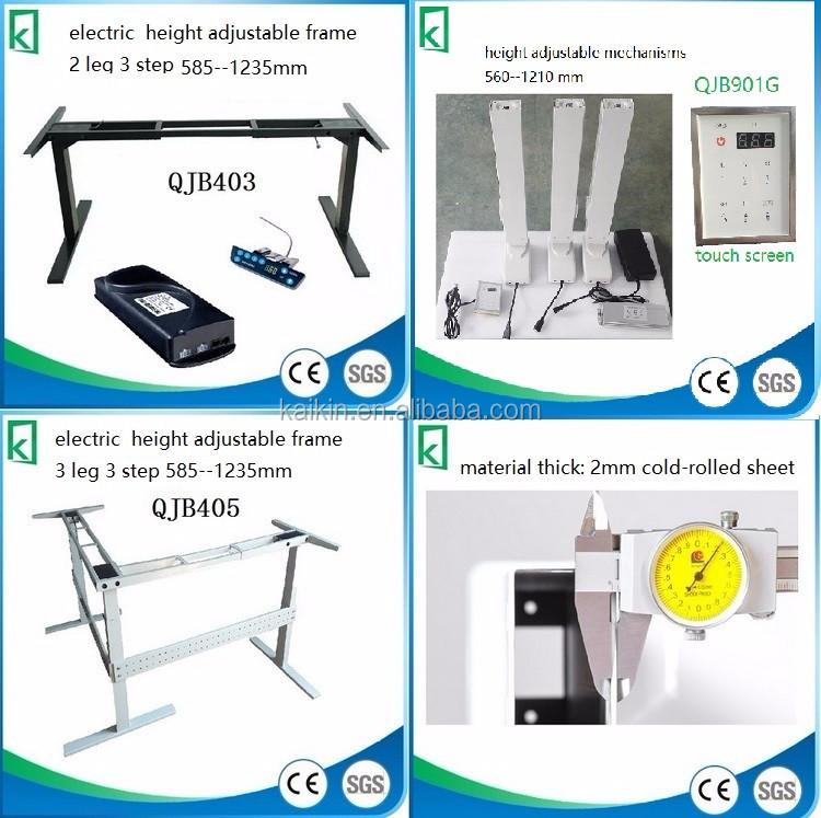 Qjb901a Office Desk Handle Crank Lift Desk Lifting System