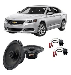 get quotations fits chevy impala 2000 2016 front door factory replacement harmony ha r65 speakers [ 1000 x 1000 Pixel ]