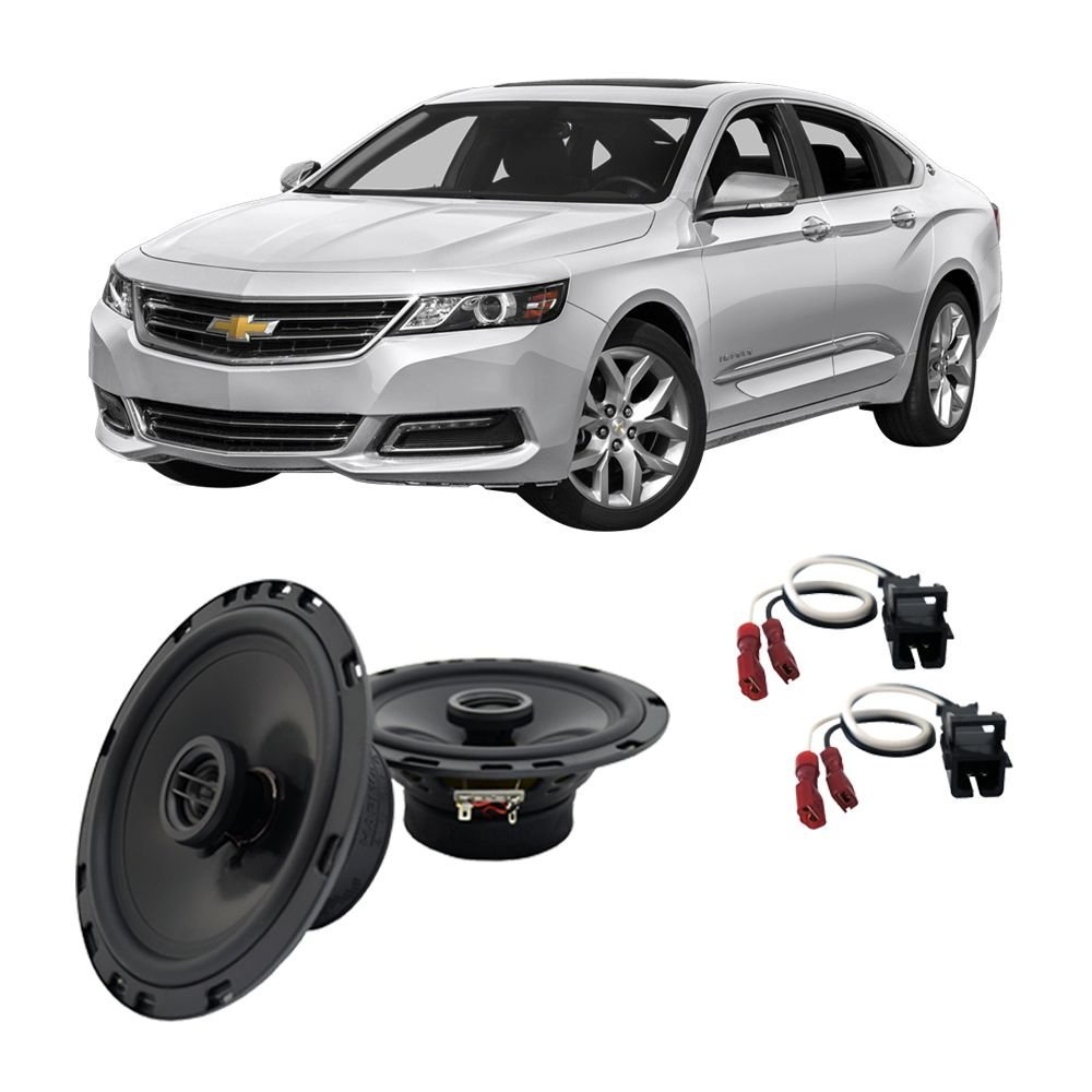 medium resolution of get quotations fits chevy impala 2000 2016 front door factory replacement harmony ha r65 speakers