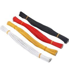 get quotations magideal 400 pieces 300mm guitar pickup copper wire lead cable for guitar parts accessories [ 1024 x 1024 Pixel ]