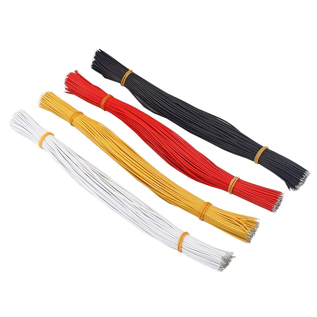 hight resolution of get quotations magideal 400 pieces 300mm guitar pickup copper wire lead cable for guitar parts accessories