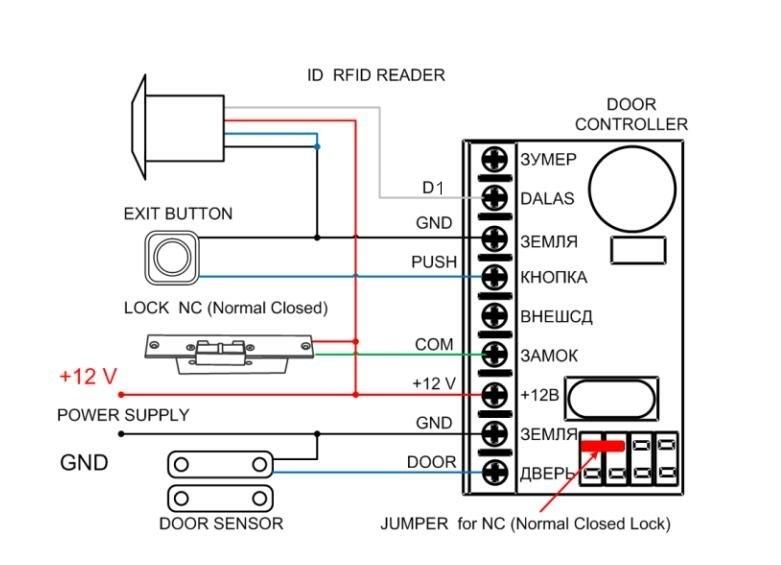 125khz Wiegand 26 Mini Rfid Reader Access Control Mini