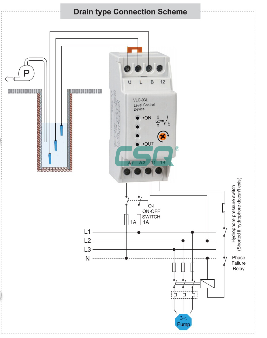 hight resolution of china made vlc 03l 230v water pump control relay switch