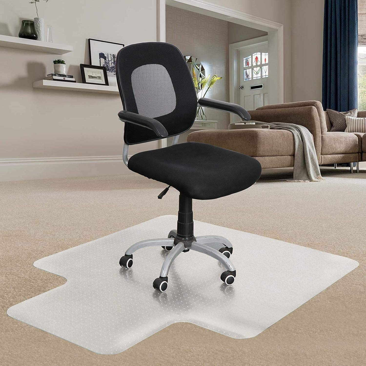 heavy duty office chair mat for carpet soccer team chairs cheap find deals on line at get quotations homgarden sturdy highly transparent low and medium pile carpets 36