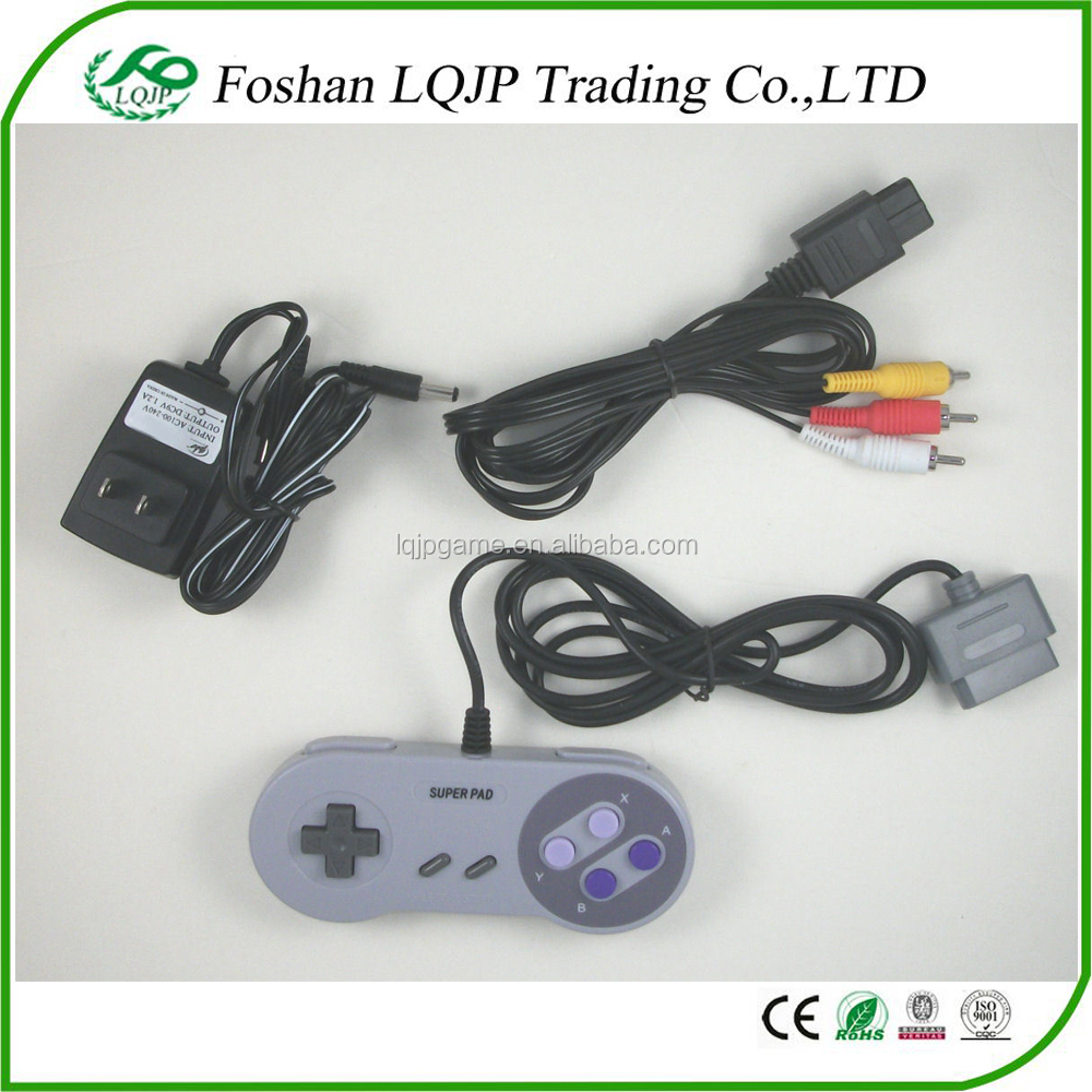 medium resolution of for super nintendo for nes hookup kit ac adapter power cord av cable controller for snes