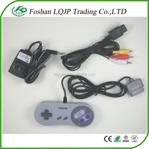small resolution of for super nintendo for nes hookup kit ac adapter power cord av cable controller for snes