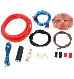 get quotations mazur professional 2300w 4 gauge amp kit amplifier install wiring 2 5 farad digital capacitor installation [ 1135 x 1135 Pixel ]