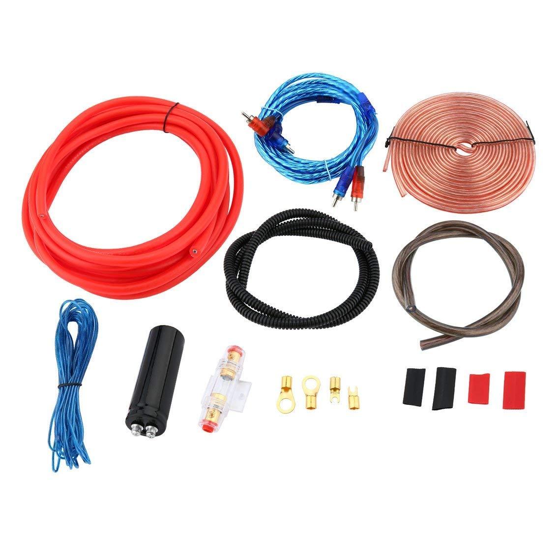 hight resolution of get quotations mazur professional 2300w 4 gauge amp kit amplifier install wiring 2 5 farad digital capacitor installation