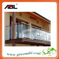 wood balcony balustrade/indoor decorative railing, View