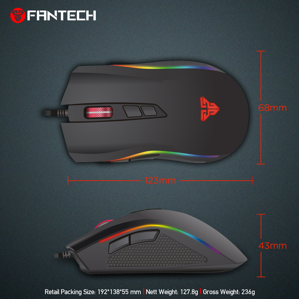 medium resolution of fantech x4s wholesale wired usb optical mouse slim universal computer mouse compatible with pc mac desktop